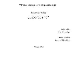 Vilniaus kompiuterinink ų akademija