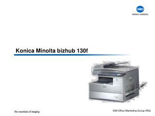Konica Minolta  bizhub  130f