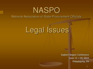 NASPO National Association of State Procurement Officials