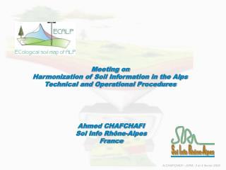 Ahmed CHAFCHAFI Sol Info Rhône-Alpes France