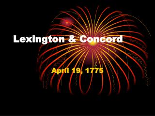 Lexington & Concord