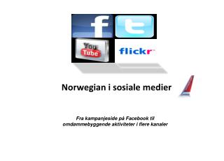 Norwegian i sosiale medier