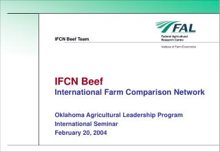 IFCN Beef International Farm Comparison Network