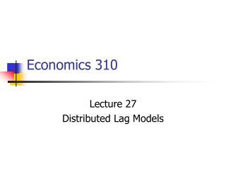 Economics 310