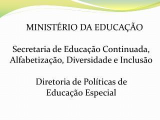 II  Reunião Técnica: Formação Continuada para e na Escola da Diversidade