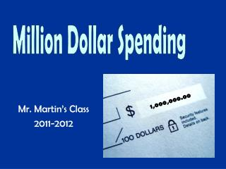 Mr. Martin's Class 2011-2012