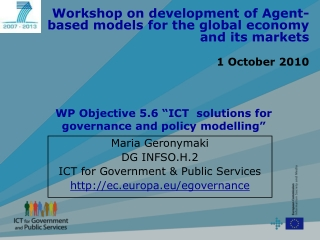 SMEs and Government Policies on ICT