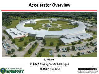 Accelerator Overview