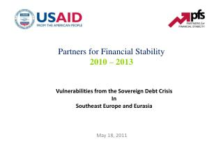 Vulnerabilities from the Sovereign Debt Crisis  In Southeast Europe and Eurasia