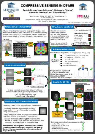 COMPRESSIVE SENSING IN DT-MRI