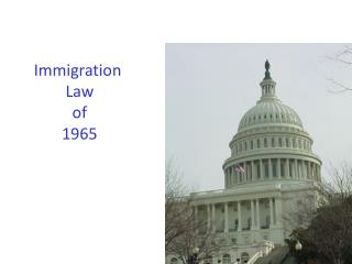 Immigration  Law  of  1965