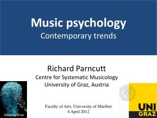 Music psychology Contemporary  trends