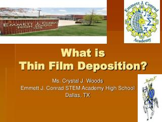 What is  Thin Film Deposition?