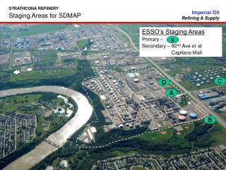 Staging Areas for SDMAP
