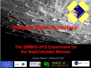 Imaging Mercury surface