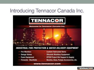 Introducing Tennacor Canada Inc.