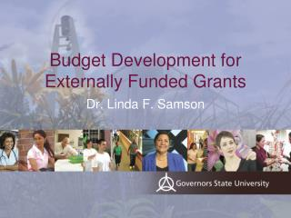 Budget Development for Externally Funded Grants