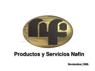 Productos y Servicios Nafin