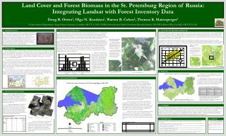 Land Cover and Forest Biomass in the St. Petersburg Region of Russia: