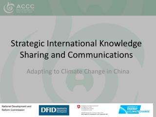 Strategic International Knowledge Sharing and Communications