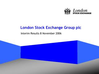 London Stock Exchange Group plc