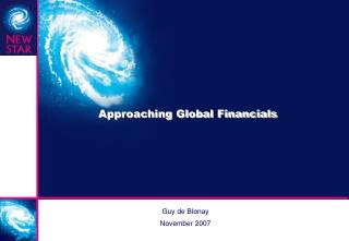 Approaching Global Financials