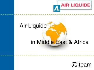 Air Liquide           in Middle East & Africa