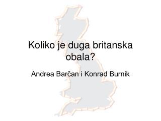 Koliko je duga britanska obala?