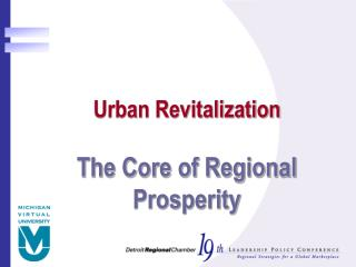 Urban Revitalization