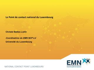 Le Point de contact national du Luxembourg