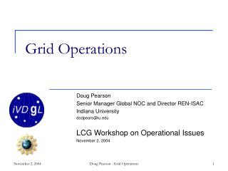 Grid Operations