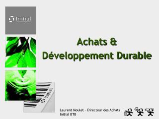 Achats & Développement Durable