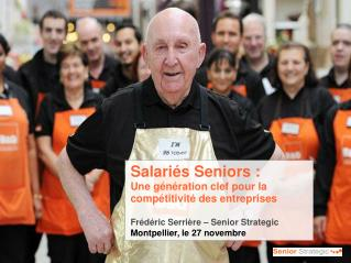 Salariés Seniors :  Une génération clef pour la compétitivité des entreprises
