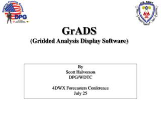 GrADS (Gridded Analysis Display Software)