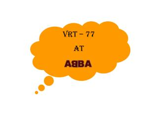 VRT � 77  At