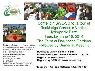 Questions?   Call Lori McPherson 321-446-0434