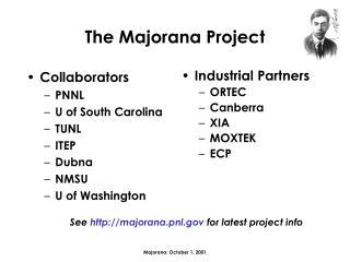 The Majorana Project