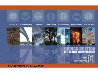FIIC MÉXICO  Octubre 2007