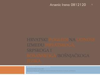 Insitut f ür  Slawistik der Karl-Franzens-Universität Graz Sprachwissenschaftliches Seminar (BKS)
