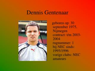 Dennis Gentenaar