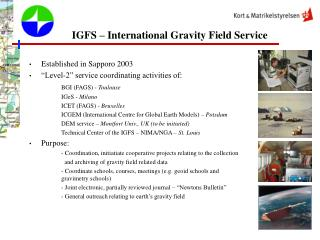 IGFS – International Gravity Field Service