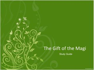 an analysis of the gift of the magi The gift of the magi is a classic example of irony in literature irony is a literary technique in which an expectation of what is supposed to occur differs greatly from the actual outcome.
