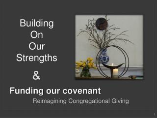Funding our covenant