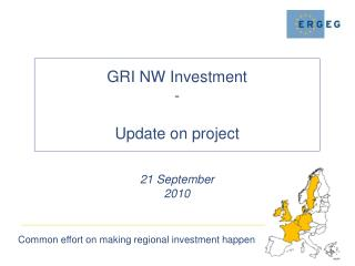 What were GRI NW Investment objectives?
