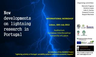 New developments on lightning research in Portugal