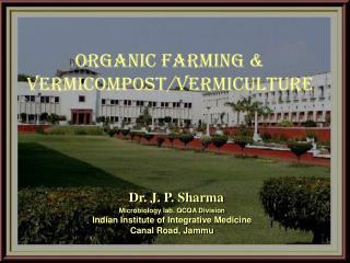 Dr. J. P. Sharma