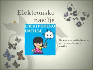 Elektronsko nasilje
