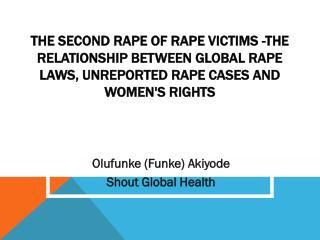 Olufunke (Funke) Akiyode Shout Global Health