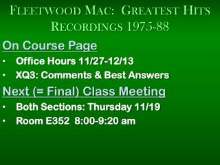Fleetwood Mac:  Greatest Hits Recordings 1975-88