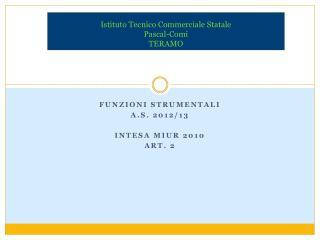 Istituto Tecnico Commerciale Statale  Pascal-Comi TERAMO